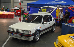 Peugeot 205 GTi 1.9 // NA 5169 AF (baffalie) Tags: auto voiture ancienne vintage classic old car coche retro expo espagne sport automobile racing motor show collection club course race circuit spain spanish fiera
