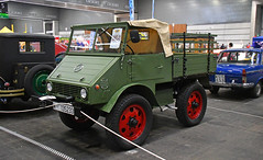 Mercedes Benz Unimog 401 // M-135433 (baffalie) Tags: auto voiture ancienne vintage classic old car coche retro expo espagne sport automobile racing motor show collection club course race circuit spain spanish fiera