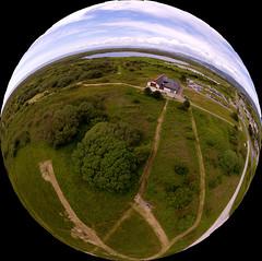 Kenfig NNR 360 (Tyrone (Ty) Williams) Tags: 360 360panorama kenfig nnr aerial drone uav