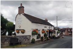 The Boat Inn (zweiblumen) Tags: theboatinn inn tavern pub gnosall staffordshire england uk canoneos50d polariser zweiblumen canal
