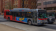 Metrobus #6163 (NoVa Truck & Transport Photos) Tags: metrobus wmata dc mass transit metro 2006 new flyer de40lfr 6163 d6 route