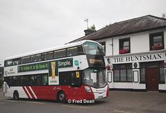Bus Eireann VWD68 (172C4394). (Fred Dean Jnr) Tags: buseireannroute215 bus buseireann cork volvo b5tl wright eclipse gemini3 vwd68 172c4394 tower blarney july2019 huntsman pub