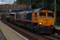Argyll: 66775 6T63 Stansted Mountfitchet 20/07/19 (TheStanstedTrainspotter) Tags: train trains rail railway transport transportation freight publictransport gbrf gbrailfreight 66 class66 66775 hmsargyll stanstedmountfitchet 6t63 whitemoor bowjunction bow whitemooryardldcgbrf westanglia westangliamainline nr networkrail engineeringtrain essex geml greateasternmainline