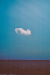 cotton-wool cloud (Andrew.King) Tags: cloud sky alone sea blue minimalist minimalism rothko simple artistic fine art abstract expressionism expressionist nikon f3 f3hp kodak ektar100 ektar film colour portrait compsoition lanscape seascape brighton royal pavilion beach pier