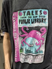 San Diego Public Library tees, Comic-Con, San Diego, California, USA (gruntzooki) Tags: sdcc sdcc2019 sandiego california cali cal ca usa sdpl libraries glam sandiegopubliclibrary tees shirts