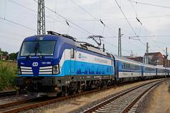 P1870934 (Lumixfan68) Tags: eisenbahn züge loks baureihe 193 siemens vectron elektroloks drehstromloks ell cd tschechische staatsbahn ec eurocity deutsche bahn db