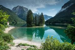 Raibl-See (Pixelkids) Tags: italien raiblsee predilpass see insel berge bergsee landschaft breathtakinglandscapes lagodelpredil lagodiraibl friauljulischvenetien