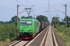 P1870972 (Lumixfan68) Tags: eisenbahn züge loks baureihe 185 elektroloks drehstromloks bombardier traxx güterzüge green cargo