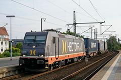 P1870961 (Lumixfan68) Tags: eisenbahn züge loks baureihe 185 elektroloks drehstromloks bombardier traxx güterzüge hectorrail galore