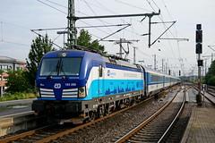 P1870949 (Lumixfan68) Tags: eisenbahn züge loks baureihe 193 siemens vectron elektroloks drehstromloks ell cd tschechische staatsbahn ec eurocity deutsche bahn db