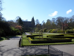 Seaton Park and St Machar's Cathedral (luckypenguin) Tags: scotland aberdeen seatonpark park