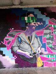 Aberdeen Mural, Union Terrace Gardens (luckypenguin) Tags: scotland aberdeen streetart mural