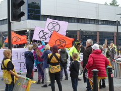 Extinction Rebellion march through Preston in climate change protest (Tony Worrall) Tags: preston lancs lancashire city welovethenorth nw northwest north update place location uk england visit area attraction open stream tour country item greatbritain britain english british gb capture buy stock sell sale outside outdoors caught photo shoot shot picture captured ilobsterit instragram photosofpreston urban candid people person picturesinthestreet photosofthestreet protest rebel street climate saturday extinctionrebellion march climatechangeprotest