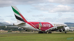 A6-EEV A380-861 Emirates (kw2p) Tags: a380861 a6eev airbus aircraft airlineoperator airport aviation egpf emirates airline aeroplane airplane flying flight kw2p scotland canon gaaec glasgowairport egpfgla