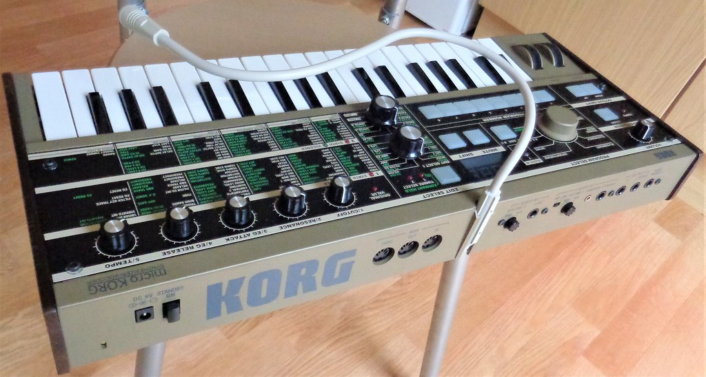 The World's newest photos of microkorg and synthesizer