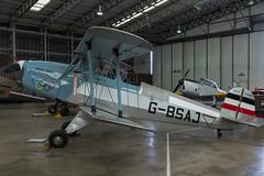 CASA 1.131E (Bucker Bu 131) Jungmann, G-BSAJ, Flying Legends (Peter Cook UK) Tags: air 131 jungmann aircraft bu gbsaj bucker aviaition show flying casa 1131e airshow 2019 legends duxford