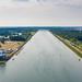 Regattabahn am Fühlinger See in Köln, Deutschland