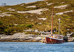 """The old Wooden Boat"" (Terje Helberg Photography) Tags: boat coast coastal coastalenvironement rock sea seascape ship shore sky water woodenboat"