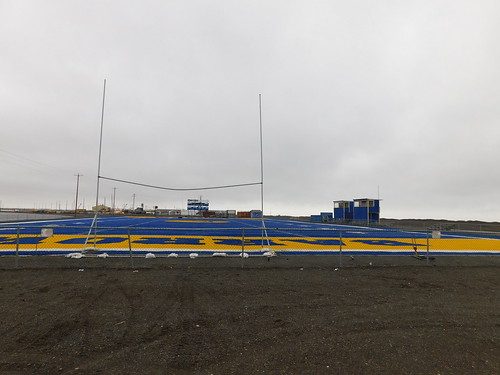 The Barrow High School Football Field
