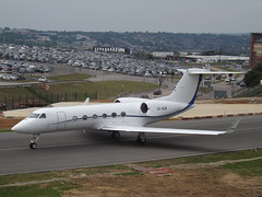VQ-BZM Gulfstream G450 (GainJet Aviation SA) (Aircaft @ Gloucestershire Airport By James) Tags: luton airport vqbzm gulfstream g450 gainjet aviation sa bizjet eggw james lloyds