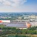 Luftbild vom Ford Betriebsgebäude in der Nähe vom Fühlinger See in Köln, Deutschland