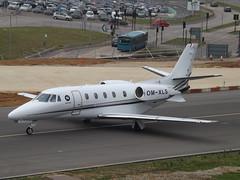 OM-XLS Cessna Citation XLS+ (Elite Jets) (Aircaft @ Gloucestershire Airport By James) Tags: luton airport omxls cessna citation xls elite jets bizjet eggw james lloyds