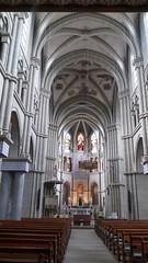 Altar mayor y nave central interior Iglesia de San Pedro y San Pablo Catedral catolica Berna Suiza 01 (Rafael Gomez - http://micamara.es) Tags: altar mayor y nave central interior iglesia de san pedro pablo catedral catolica berna suiza