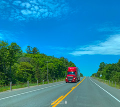 Trans-Canada Highway, Ontario (TO416 Original) Tags: 2019 canada motoroilphotography ontario to416 transport travel huronshores transcanadahighway highway17 roadtrip tofouronesix to416original tourism touristattraction tourist attractions truck trucking internationaltruck