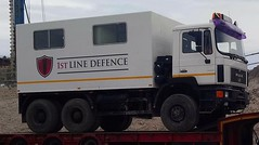 1st line defence survey rig (militaria collector) Tags: firstlinedefence 1stlinedefence 1stline defence uxo survey 6x6 rig man truck 6x6truck offroad