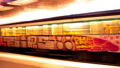 Paris Metro 2019 (S Hancock) Tags: sony a7 paris 2019 metro train fast transport beautiful colours