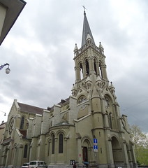exterior Iglesia de San Pedro y San Pablo Catedral catolica Berna Suiza 03 (Rafael Gomez - http://micamara.es) Tags: exterior iglesia de san pedro y pablo catedral catolica berna suiza