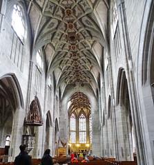 Altar mayor y nave central interior Iglesia de San Pedro y San Pablo Catedral catolica Berna Suiza 02 (Rafael Gomez - http://micamara.es) Tags: altar mayor y nave central interior iglesia de san pedro pablo catedral catolica berna suiza