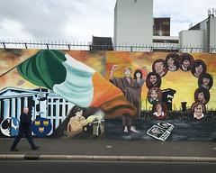 Belfast Political Mural (woody lauland) Tags: belfast northernireland mural