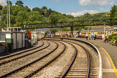 Kingswear Railway Station (Gary S Bond) Tags: great britain united kingdom 2019 a65 alpha dartmouth devon england heritage june loco locomotive railway riviera shabbagaz sony south steam train uk west greatbritain unitedkingdom