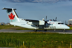 C-FGRP (Air Canada express -  JAZZ) (Steelhead 2010) Tags: aircanada aircanadaexpress jazz dehavillandcanada dhc8 dhc8100 yyz creg cfgrp
