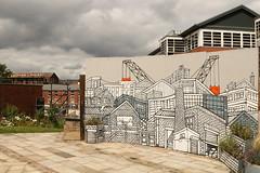 Signs Of Change (Derbyshire Harrier) Tags: lovesquare 2019 sheffield city southyorkshire july summer woollensignsltd westbar jopeel mural lovesquaremuralsbyjopeel
