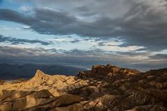 Zabriskie Point, Death Valley NP (donberry37 (SF Bay Area)) Tags: zabriskie deathvalley park california mountain erosion
