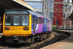 Northern 142004 (Mike McNiven) Tags: arriva railnorth northern pacer dmu diesel multipleunit manchester oxfordroad deansgate liverpool limestreet