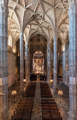 _DSC6750 - The Jerónimos Monastery interior (AlexDROP) Tags: 2019 portugal lisboa lisbon europe art travel architecture color wideangle interior church monastery nikond750 tamronaf1735mmf284diosda037 best iconic famous mustsee picturesque postcard geometry