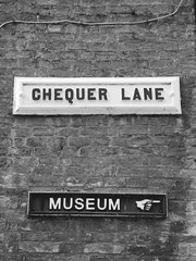 Chequer Lane Museum Ely July 2019 (Uncle Money UK) Tags: chequerlane museum black white blackandwhite ely july 2019