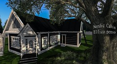 House in the shade of a tree (Velikrida(InWorld)) Tags: house elfico penso store home and garden decor cottage july 2019 event second life deco spring trees mesh cozy lux sense