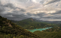 El Llobergat, Catalonia (StarCitizen) Tags: mountains river clouds storm water dramatic