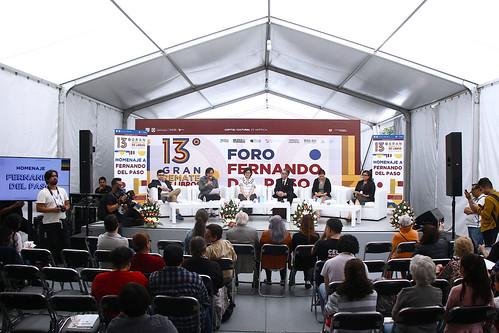 MX MM HOMENAJE FERNANDO DEL PASO