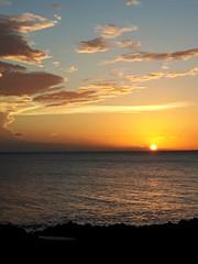 République Dominicaine (isabelleisa710) Tags: océan ocean sea mer baie eau water couleurs colors light lumière sun sunlight coucher de soleil plage beach playa nuage clouds sky ciel