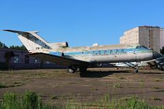 EW-87775 Former Aeroflot Yakolev Yak-40 at the State Aviation College Minsk on 26 May 2019 (Zone 49 Photography) Tags: aircraft airliner aeroplane may 2019 minsk belarus state aviation college su afl aeroflot yakolev yak yk40 yak40 ew87775 cccp87775