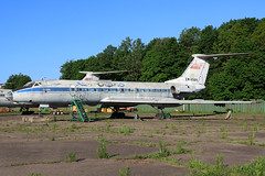 EW-65614 Former Aeroflot Tupolev Tu-134 at the State Aviation College Minsk on 26 May 2019 (Zone 49 Photography) Tags: aircraft airliner aeroplane may 2019 minsk belarus state aviation college su afl aeroflot tupolev tu134 134 ew65614 cccp65614