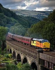 Class 37 Railtour (danielbirch1974) Tags: todmorden gauxholmearches growler class37 westcoastrail colasrail railtour 1z40 thelucapezzuloexpress 37669 37521