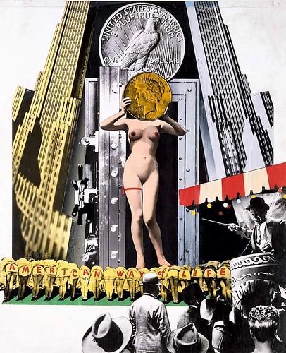 Fata Morgana USA:  The American Way of Life.  Josep Renau