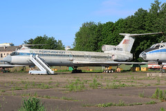 EW-85122 Former Aeroflot Tupolev Tu-15B4 at the State Aviation College Minsk on 26 May 2019 (Zone 49 Photography) Tags: aircraft airliner aeroplane may 2019 minsk belarus state aviation college su afl aeroflot tupolev tu154 154 tu154b ew85122 cccp85122