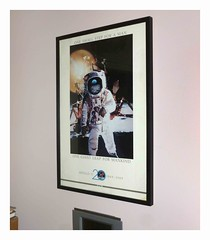 Another anniversary (Jer*ry) Tags: nasa space apollo11 poster moon aldrin armstrong iconic photo 1969 1989